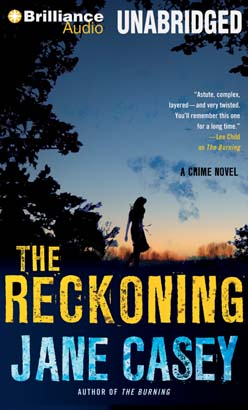 The Reckoning by Jane Casey cover image